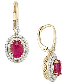 Rare Featuring Gemfields Certified Ruby 1 3 Ct T W And