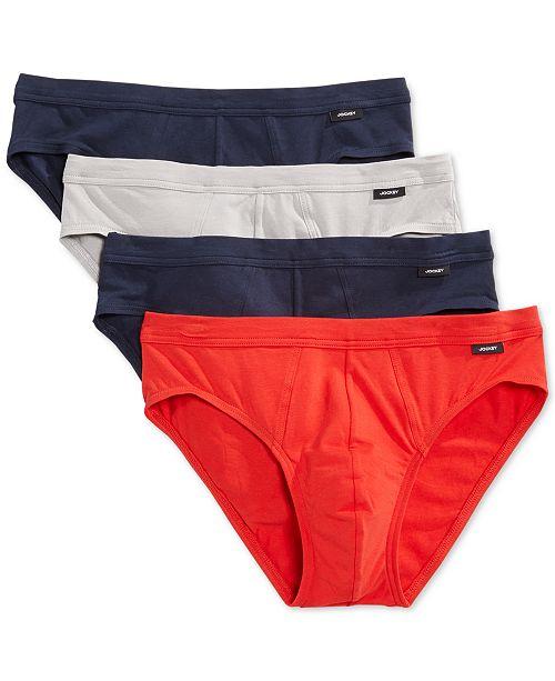 915775a691a7 Jockey Stretch Tagless Bikini Briefs, 4 Pack & Reviews - Underwear ...
