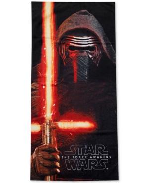 Star Wars Kylo Ren Beach Towel from Jay Franco Bedding