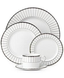 Lenox Dinnerware, Onyx Platnuim Collection