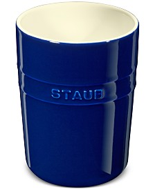 Staub Dark Blue Ceramic Utensil Holder