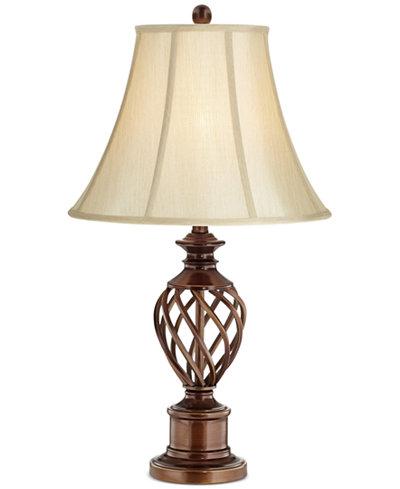 Pacific Coast Bronze Twist Metal Table Lamp, Created for Macy's - Pacific Coast Bronze Twist Metal Table Lamp, Created For Macy's