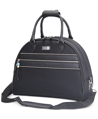 CLOSEOUT! 65% OFF Steve Madden Patchwork Dome Satchel, Only at Macy's