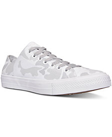 Converse Men's Chuck Taylor All Star II Ox Casual Sneakers from Finish Line