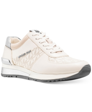 Michael Michael Kors Allie Wrap Trainer Sneakers Womens Shoes