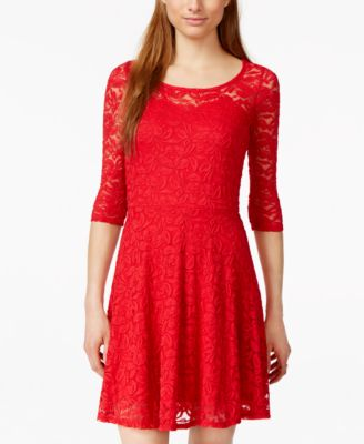 Cheap Red Cocktail Dresses Juniors