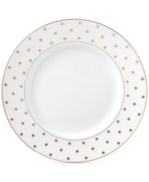 Kate Spade KATE SPADE NEW YORK LARABEE ROAD GOLD BONE CHINA DINNER PLATE