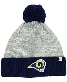 '47 Brand Los Angeles Rams Coverage Knit Hat