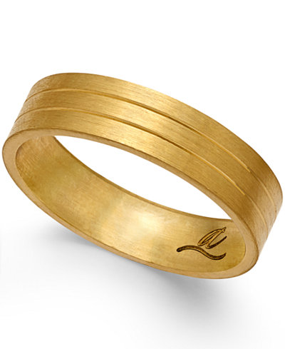 Three-Row Wedding Band in 18k Gold