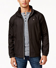 Quiksilver Waterman Men's Shell Shock Full-Zip Windbreaker
