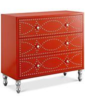 Springvale Nail Head Accent Chest, Quick Ship