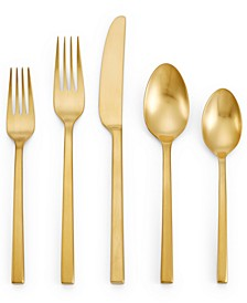 Polished Gold 5 Piece Place Setting