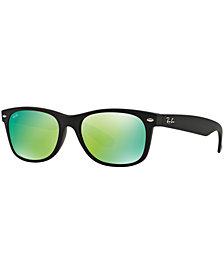 Ray-Ban NEW WAYFARER MIRRORED Sunglasses, RB2132 52