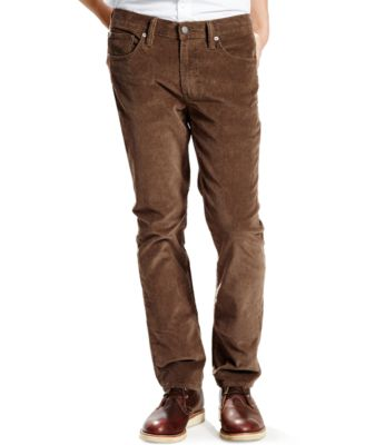 Mens Slim Fit Corduroy Pants UYg5opcY