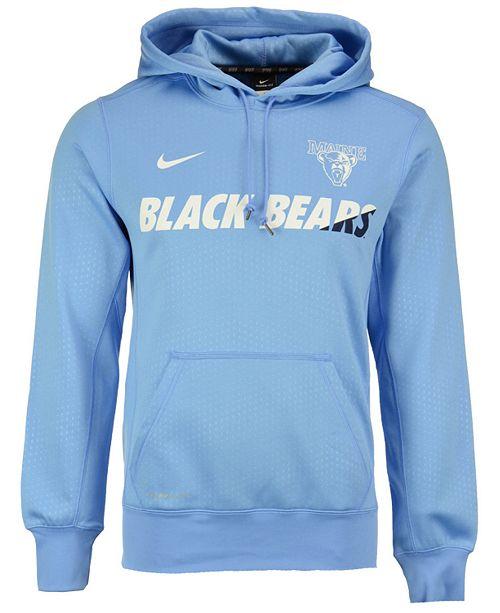 8b875cc8 Nike Men's Maine Black Bears Sideline KO Hoodie & Reviews - Sports ...