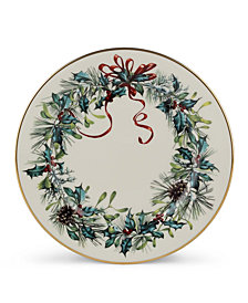 "Lenox ""Winter Greetings"" Bread & Butter Plate"