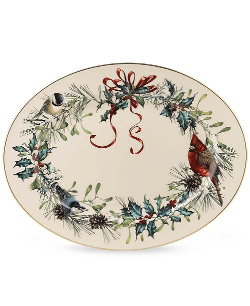 Lenox dinnerware 16 winter greetings platter fine china macys main image main image m4hsunfo
