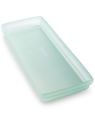 Closeout martha stewart collection sea glass frost tray created for macy 39 s bathroom Martha stewart bathroom collection