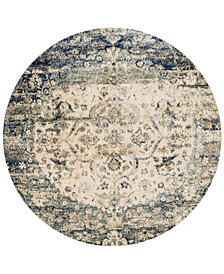 "Macy's Fine Rug Gallery Andreas   AF-06 5'3"" Round Rug"