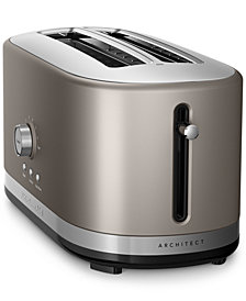 KitchenAid KMT4116 Architect® 4-Slice Long Slot Toaster, Created for Macy's