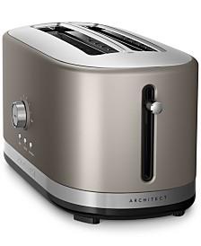 KitchenAid KMT4116 Architect® 4-Slice Long Slot Toaster, Created for Macy's