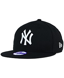 Kids' New York Yankees B-Dub 9FIFTY Snapback Cap