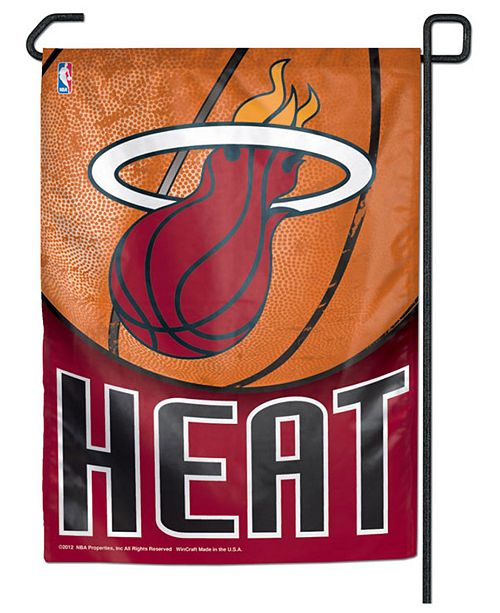 Wincraft Miami Heat Garden Flag & Reviews