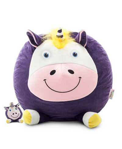 Unice the Unicorn Bean Bag with Toy, Quick Ship