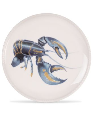 Cape Coral Collection Lobster Accent Plate