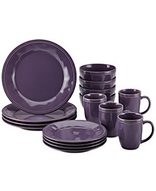 Cucina Lavender Purple  16-Pc. Set, Service for 4