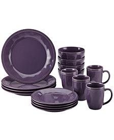 Rachael Ray Cucina Lavender Purple  16-Pc. Set, Service for 4