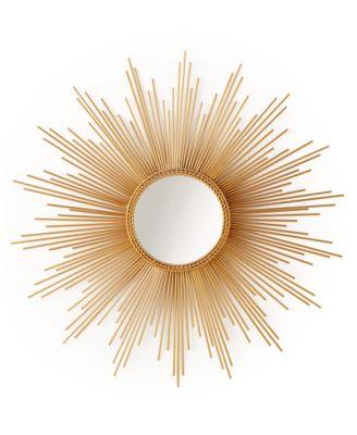 home design studio large sunburst mirror