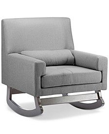 Anaia Linen Rocking Chair