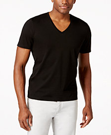 I.N.C. Men's V-Neck Polished T-Shirt, Created for Macy's