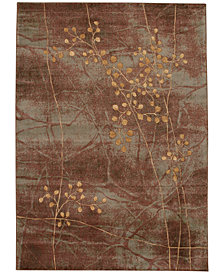 "CLOSEOUT! Nourison Somerset Multi Blossom 2' x 2'9"" Area Rug"