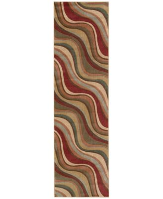 "CLOSEOUT! Somerset Wave 2'3"" x 8' Runner Rug"