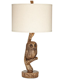 Pacific Coast Night Owl Table Lamp