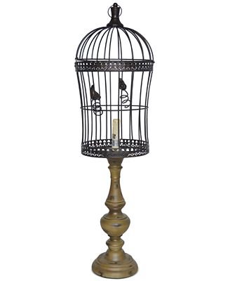 Crestview Birdcage Table Lamp Lighting Lamps Home Macy S