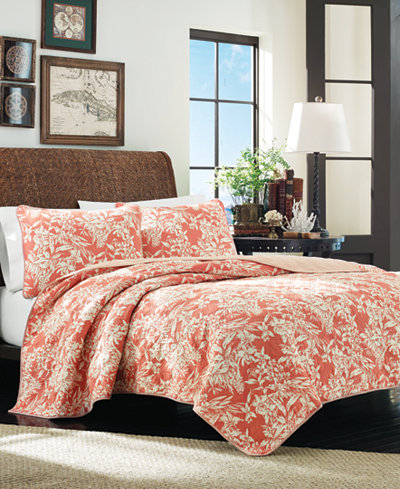 Tommy Bahama Home Orchid Retreat King Quilt Quilts