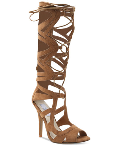 Chelsea Amp Zoe Carass Lace Up Gladiator Sandals Sandals