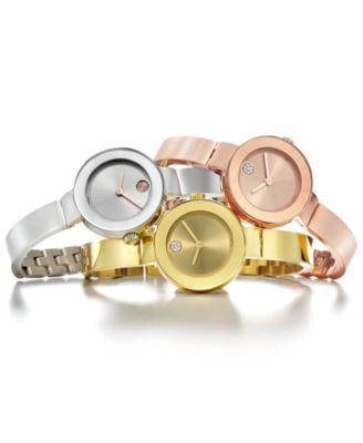 This Item Is Part Of The Movado Women S Swiss Bangle Bracelet Watches