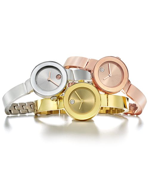 Movado Women's Swiss Bangle Bracelet Watches