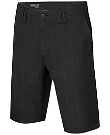 "O'Neill Men's Delta Plaid 22"" Chino Shorts"