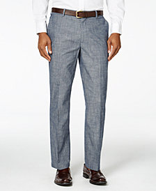 Tasso Elba Men's Chambray Pants, Created for Macy's