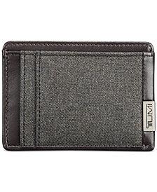 Tumi Men's Money Clip Card Case