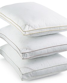 Calvin Klein Tossed Logo Print Density Down Alternative Gusset Pillows, Hypoallergenic