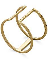 T-Bar Ring in 14k Gold