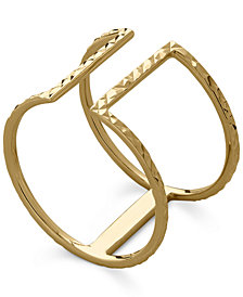 T-Bar Ring in 14k Gold