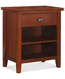 Bellevue Bedroom Bedside Table, Quick Ship