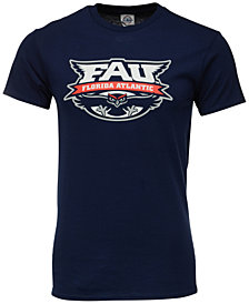 J America Men's Florida Atlantic Owls Big Logo T-Shirt